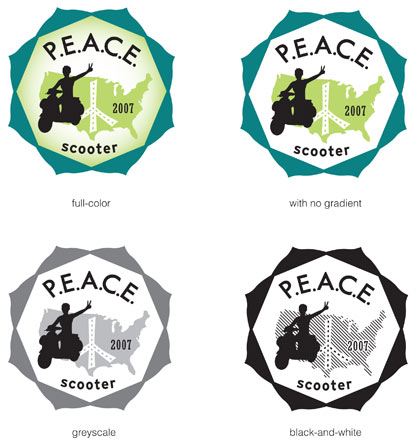 PEACE Scooter logo
